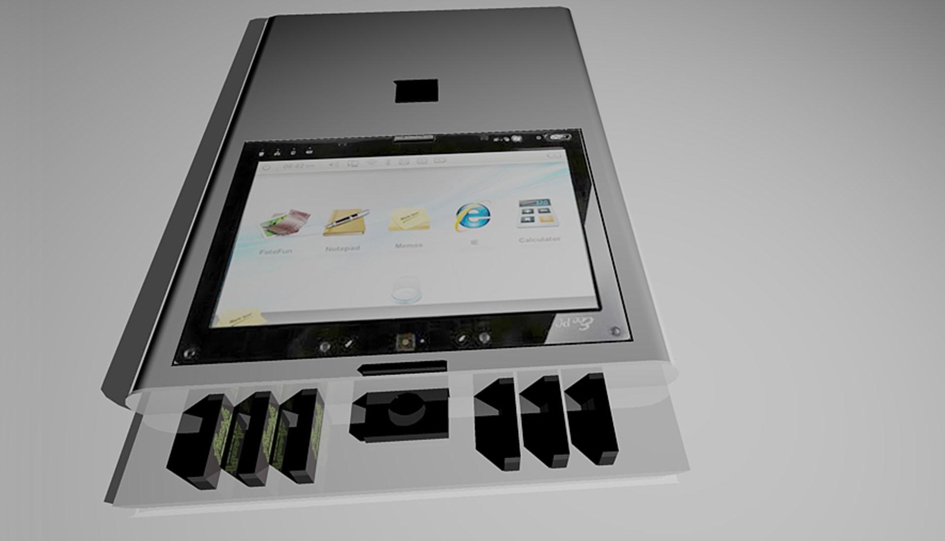 Portable AV Inflight Entertainment Kiosk