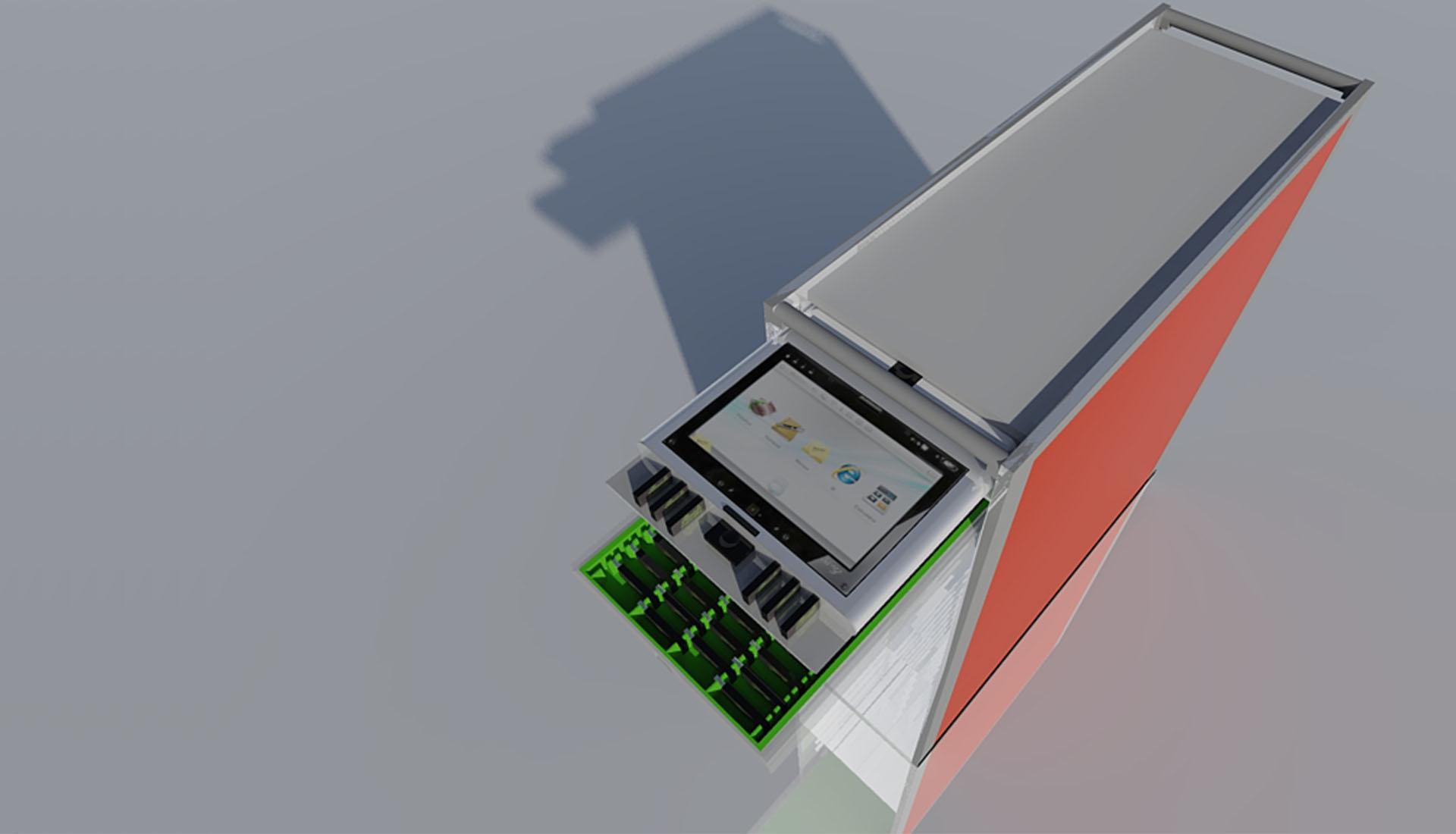 Portable AV Inflight Entertainment Inflight Trolley